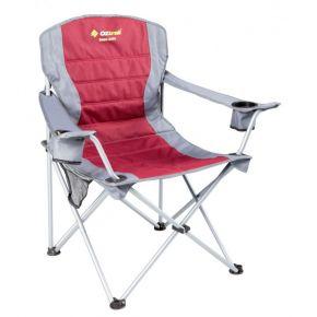 Oztrail Καρέκλα Πτυσσόμενη DELUXE JUMBO ARM Κόκκινη