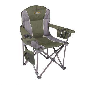 Oztrai Καρέκλα Πτυσσόμενη TITAN ARM Πράσινη