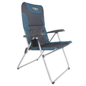 Oztrail Πτυσσόμενη Πολυθρόνα Ξαπλώστρα Easy Camp Reclining Chair Μπλέ