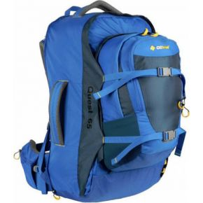 Oztrail Σακίδιο Ταξιδιού Quest 65L + 10L Blue