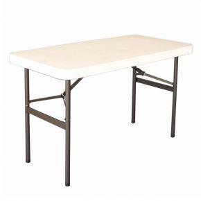 Oztrail Τραπέζι Πτυσσόμενο 4 Blow Mould Ενισχυμένο 120x60cm