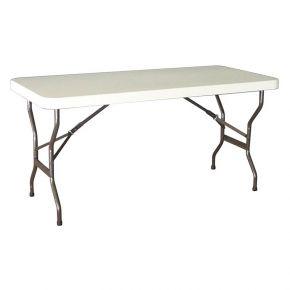 Oztrail Τραπέζι Πτυσσόμενο 6 Blow Mould Ενισχυμένο 180x75cm