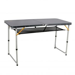 Oztrail Τραπέζι Πτυσσόμενο Folding Table Double 120x60x69cm Γκρι