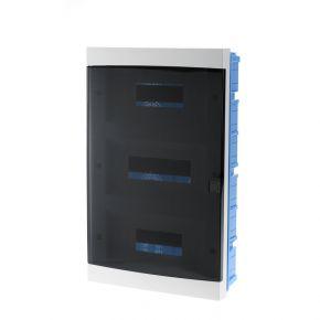 BAS Χωνευτός Πίνακας 36 Θέσεων Με Πόρτα IP40