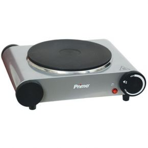 Primo Ηλεκτρική Εστία Μονή PRHP-40220 1 Εστία 18CM 1500W Silver