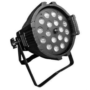 Spacelights LED PAR Zoom 6-in-1 18x12W RGBWA UV