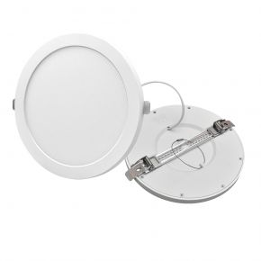 Lucas Στρογγυλό LED Panel 18W Downlight