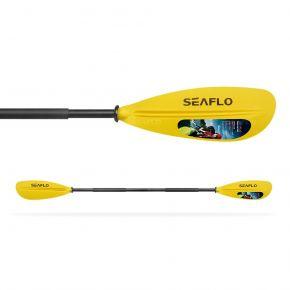 SEAFLO Κουπί Διπλό Διαιρούμενο ADULT Αλουμινίου Yellow 220cm