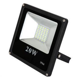 SL LED Λεπτός Προβολέας SMD 20W Epistar IP66