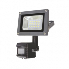 SL LED Προβολέας 10W Floodlight Ανιχνευτής Κίνησης IP65