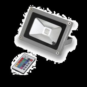 SL LED Προβολέας 10W RGB COB Floodlight IP65