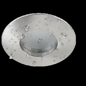 SL Spot Οροφής Xωνευτό GU10 IP44 Nickel