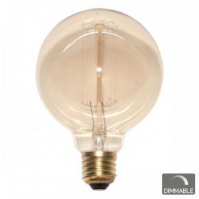 SL Λάμπα 40W Edison Vintage Πυράκτωσης ø95mm E27 Dimmable