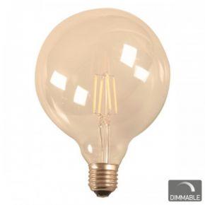 SL LED Λάμπα Vintage 7W E27 G125 Filament Dimmable