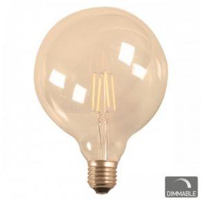 SL LED Λάμπα Vintage 7W E27 G95 Filament Dimmable