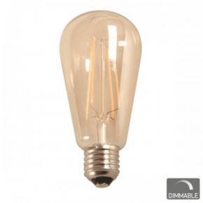 SL LED Λάμπα Vintage 7W E27 ST64 Filament Dimmable