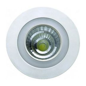 SL Στρογγυλό Slim 6W LED Panel Χωνευτό Downlight SMD & COB