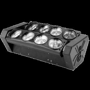Spacelights LED Κινητή Κεφαλή Spider 8x8W
