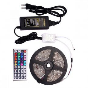 Spotlight Ταινία LED RGB 7.2W SMD 12V IP65 5m Kit