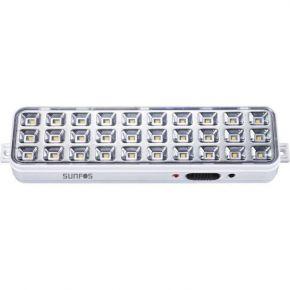 Sunfos Φωτιστικό Ασφαλείας LT-9830K 30 LED Μπαταρία Λιθίου 3.7V – 1200mAh