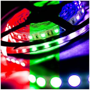 Spacelights LED Ταινία 12V 7.2W IP20 RGB