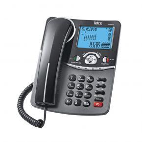 Telco Ενσύρματο Τηλέφωνο με Αναγνώριση Κλήσης Στην Αναμονή Μαύρο GCE6216 2