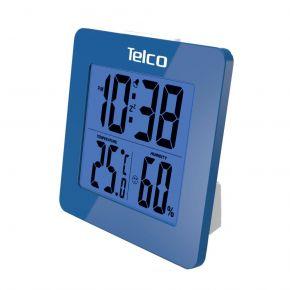 Telco Μετεωρολογικός Σταθμός με Ένδειξη Υγρασίας Ε0114Η-1 Μπλε