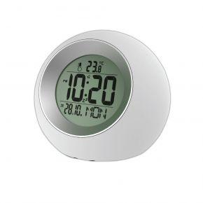 Telco Ψηφιακό Ρολόι Λευκό με Γκρι E0325
