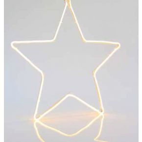 Eurolamp Αστέρι Θερμό Λευκό Neon 15W IP44