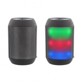 TnB Φωτορυθμικό Επαναφορτιζόμενο Ηχείο LED Bluetooth 3W HPBLED1