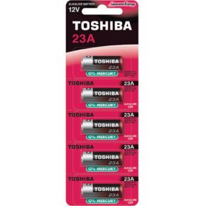 Toshiba Αλκαλικές Μπαταρίας 23A - BP-5 5 τμχ
