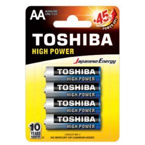 Toshiba High Power AA (4τμχ) LR6GCP BP-4