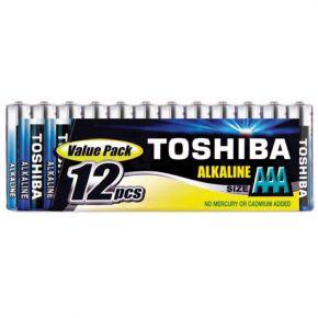 Toshiba Μπαταρίες AAA VALUE PACK 12 τμχ