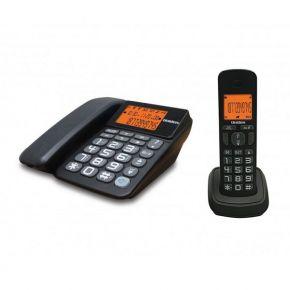 Uniden Ασύρματο Τηλέφωνο COMBO AT-4503 Μαύρο