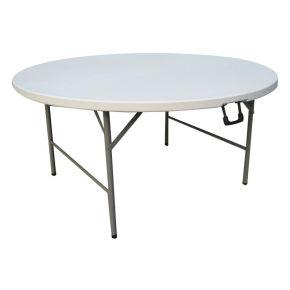 Unigreen Τραπέζι Ροτόντα Πτυσσόμενο Ø154cm