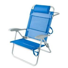Unigreen Καρέκλα Αλουμινίου Ανακλινόμενη 5 Θέσεων