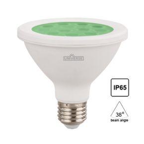 Universe LED Λάμπα 16W E27 PAR38 IP65 Green