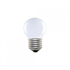 Universe LED Λάμπα 4W Filament G45 E27 IP20 Dimmable Milky Glass