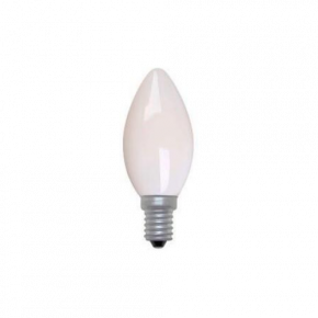 Universe LED Λάμπα 4W Filament C35 E14 IP20 Dimmable Milky Glass