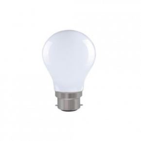 Universe LED Λάμπα 7.5W Filament A60 B22 IP20 Dimmable Milky Glass