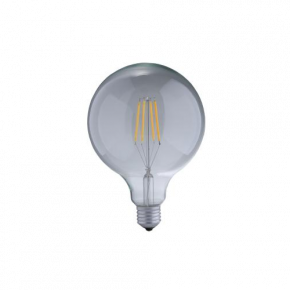 Universe LED Λάμπα 7.5W Filament G125 E27 IP20 Dimmable