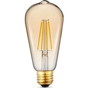 Universe LED Λάμπα Filament E27 7W Dimmable Μελί