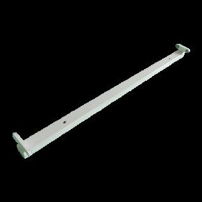 Universe Σκάφη Για 1 ή 2 LED Λάμπες Φθορισμού T8 24W