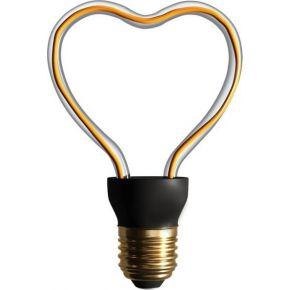 Universe LED Λάμπα Filament E27 4W Flexible Art Line Dimmable
