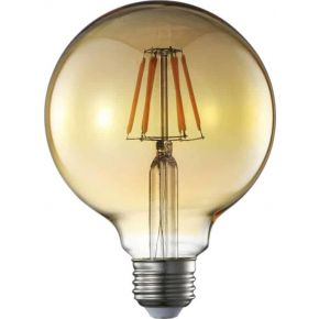 Universe LED Λάμπα Filament E27 8W 240V Μελί