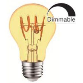 Universe LED Λάμπα Dimmable Filament E27 A60 4W