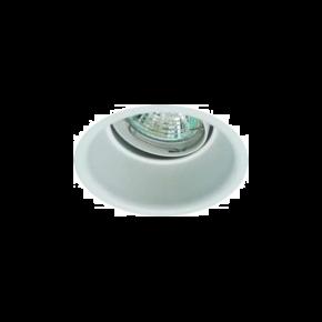 Universe LED Spot Χωνευτό 50W Αλουμινίου Στρογγυλό Κινητό Βαθύ GU10