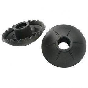 Vango Walking Pole Baskets x2 Black