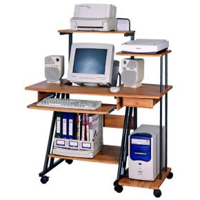 Velco Γραφείο Computer MDF 110x78x130cm