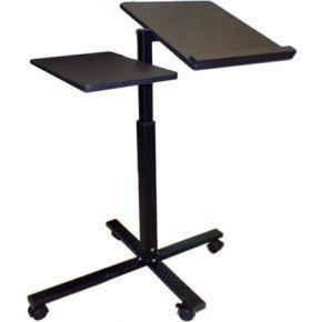 Velco Γραφείο Laptop Ρυθμιζόμενο Για Αριστερόχειρες Μαύρο 59-13882